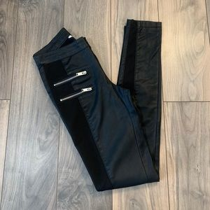 ONLY - ASOS Faux Leather Skinny Pants